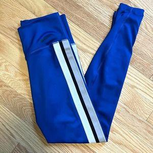 Nike Blue Track Stripe Skinny Legging Pants XS